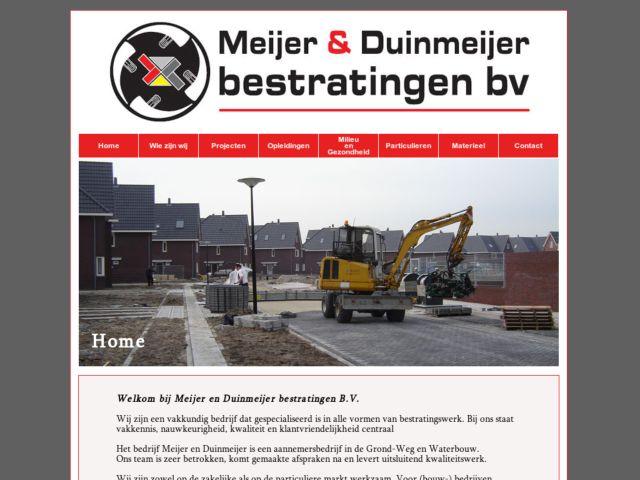 MEIJERENDUINMEIJERBESTRATINGEN.NL